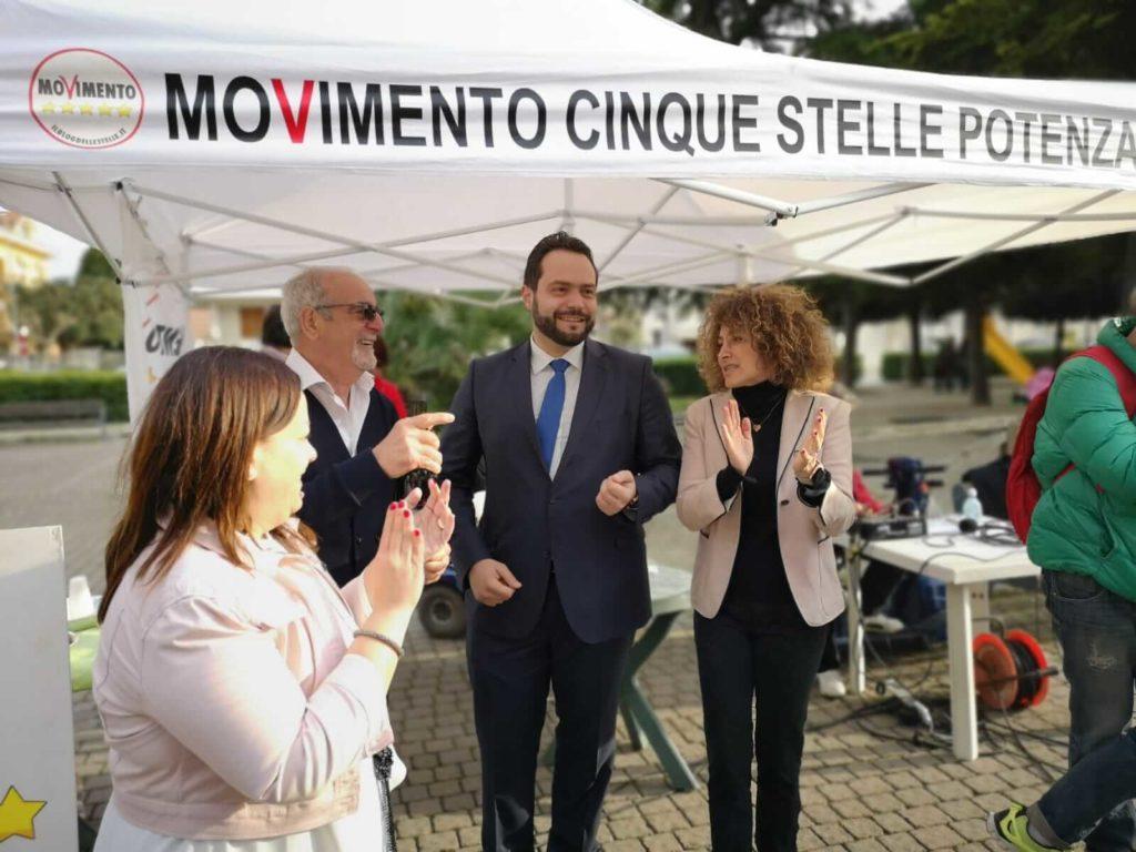 Mirella Emiliozzi a Potenza per il M5S